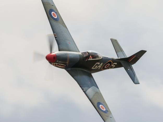 "P-51D ""the Shark"". Foto Eirik Østensjø"